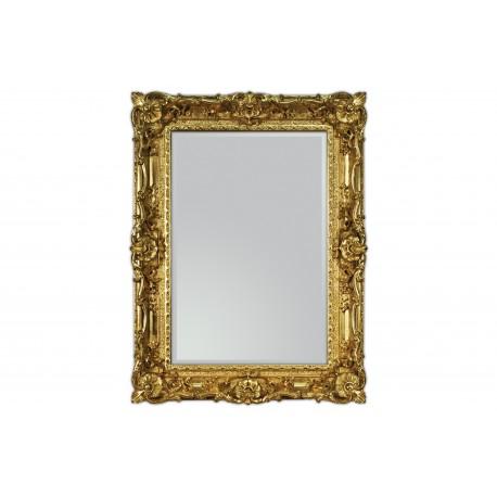 Lustro w złotej ramie 87x117cm