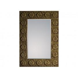 Eleganckie lustro złota rama 92x128cm