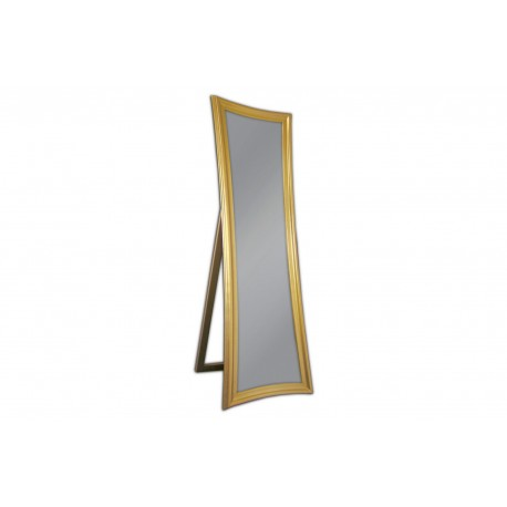 Lustro stojące złote 54x170cm