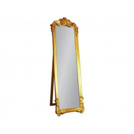 Eleganckie lustro stojące złota rama 57x181cm
