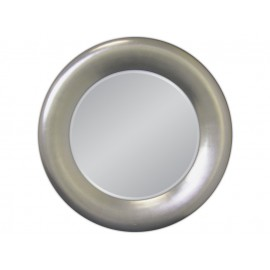 Eleganckie lustro w srebrnej ramie 90x90cm