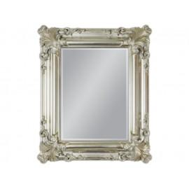 Lustro w srebrnej ramie 50x60cm
