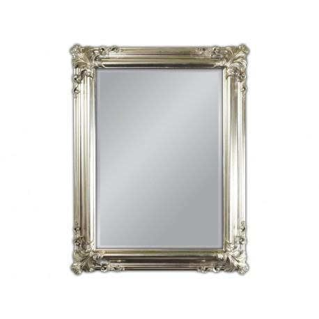 Eleganckie lustro srebrne 70x90cm