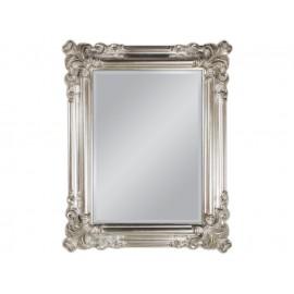 Lustro w srebrnej ozdobnej ramie 74x94cm