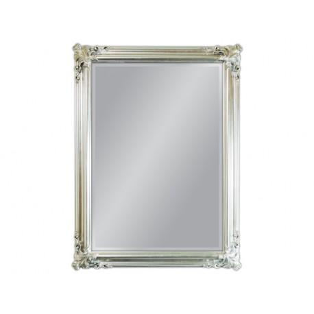 Lustro w srebrnej ramie 90x120cm