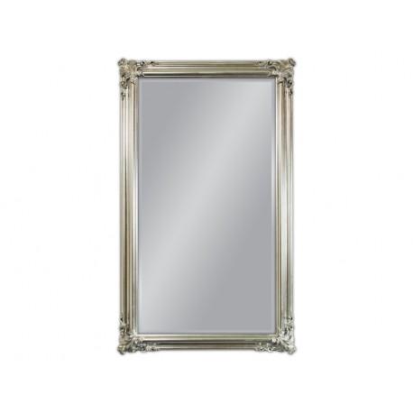 Eleganckie lustro srebrna rama 90x150cm