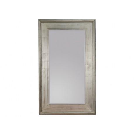 Lustro w ozdobnej srebrnej ramie 90x150cm