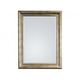 Eleganckie lustro w srebrnej ramie 70x90cm
