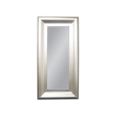 Srebrne eleganckie lustro 60x120cm