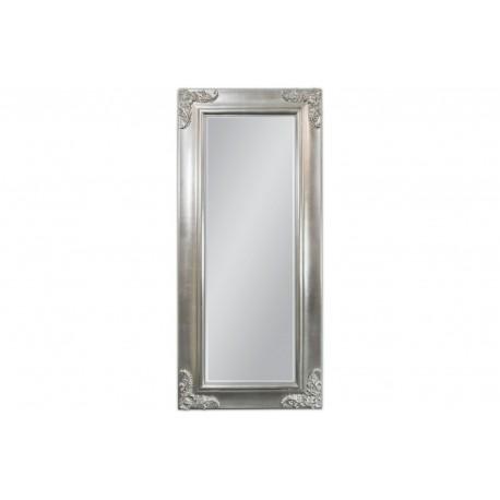 Lustro w srebrnej ramie 80x180cm