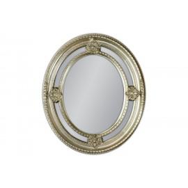 Eleganckie lustro srebrne 62x72cm