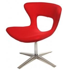 Krzesło Soft czerwone