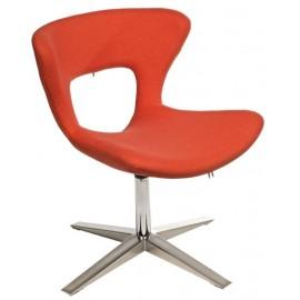 Krzesło Soft pomarańczowe
