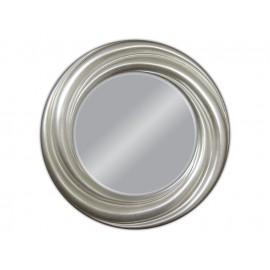 Lustro okrągłe w srebrnej ramie 68x68cm
