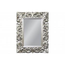 Eleganckie lustro srebrna rama 70x90