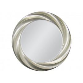 Lustro ozdobne w srebrnej ramie 80x80cm