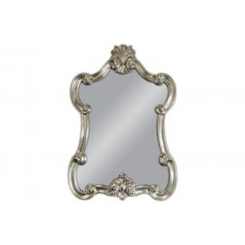 Ozdobne lustro w srebrnej ramie 79x113cm