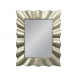 Eleganckie srebrne lustro 80x100cm