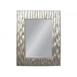 Eleganckie lustro w srebrnej ramie 78x98cm