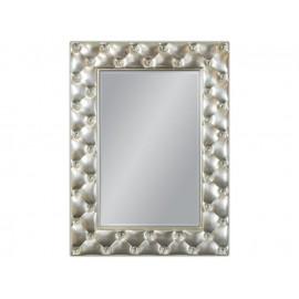 Ozdobne lustro srebrna rama 88x120cm