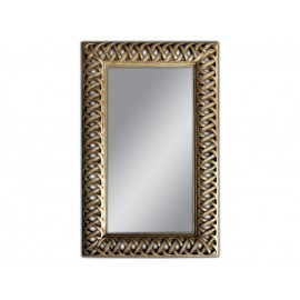 Ozdobne lustro-antyczne srebro 95x155cm