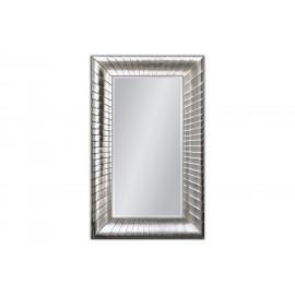 Duże lustro w srebrnej ramie 100x160cm