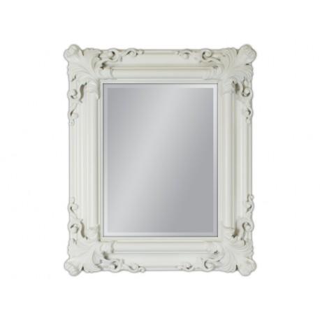 Lustro w białej ramie 50x60cm
