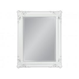 Ozdobne lustro w białej ramie 70x90cm