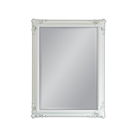 Lustro biała rama 90x120cm
