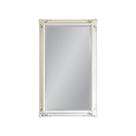 Lustro biała rama 90x150cm