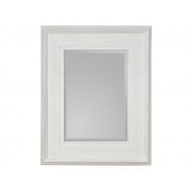 Lustro białe przecierane 80x100cm