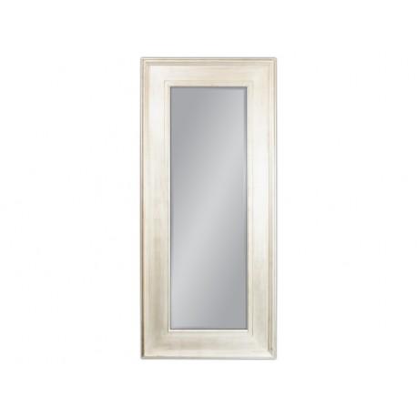 Duże lustro białe przecierane 80x180cm