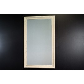 Ozdobne kremowe lustro 90x150cm