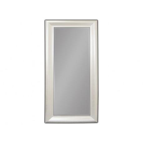 Lustro w białej ramie 100x190cm