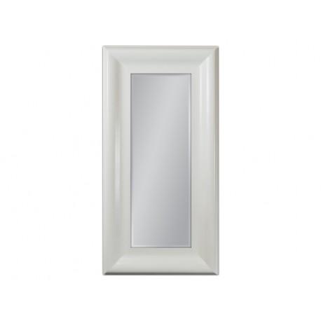 Eleganckie lustro biała rama 60x120cm