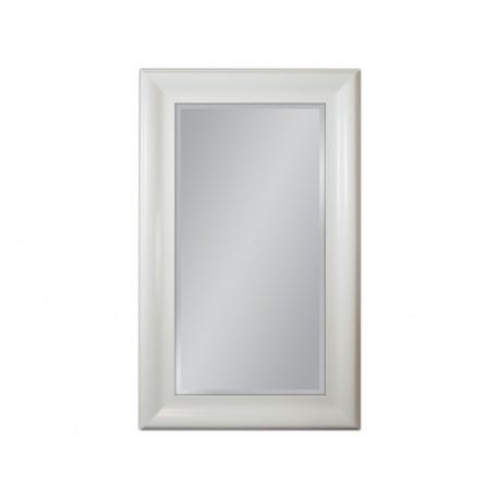 Lustro w białej ramie 90x150cm