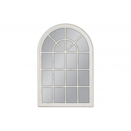Lustro okno biała rama 100x150cm