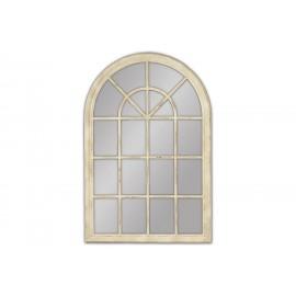 Lustro okno kremowa rama 100x150cm