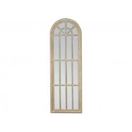 Duże lustro okno kremowa rama 60x180cm