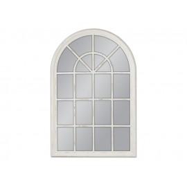Lustro okno białe przecierane 74x104cm