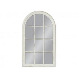 Lustro okno biała rama 80x135cm