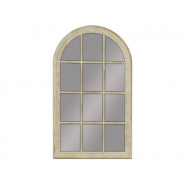 Lustro okno kremowa rama 80x135cm