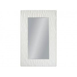 Duże lustro w białej ramie 100x160cm
