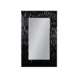 Ozdobne lustro czarna rama 100x160cm