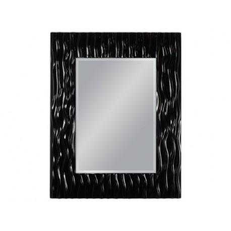 Eleganckie lustro czarna rama 78x98cm