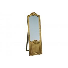 Eleganckie lustro stojące złota rama 55x170cm