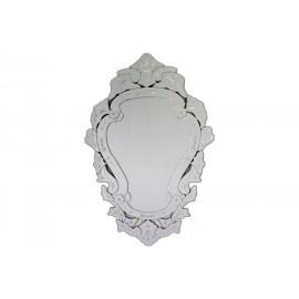 Eleganckie lustro w lustrzanej ramie 80x120cm
