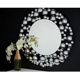 Eleganckie lustro ozdobne 100x100cm