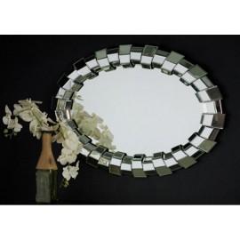 Lustro eleganckie w lustrzanej ramie 70x100cm