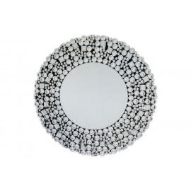 Nowoczesne lustro okrągłe 90x90cm